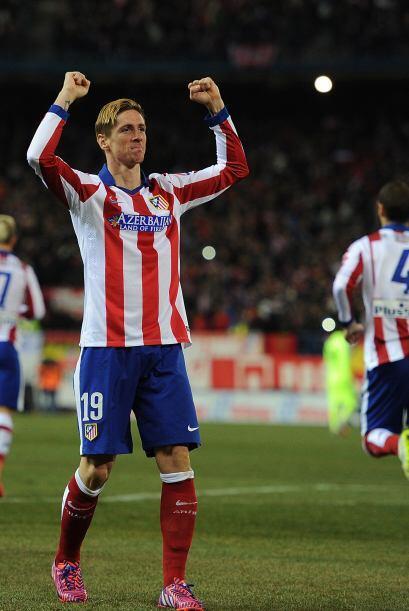 De nuevo el marcador se movió muy rápido pues Fernando Torres aprovechó...