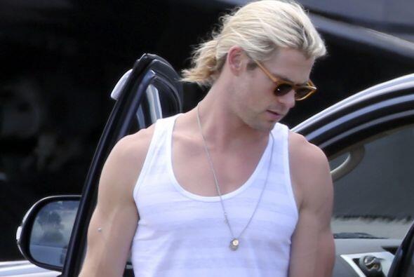 Chris Hemsworth echa rayos y centellas cuando hace ejercicio y dieta