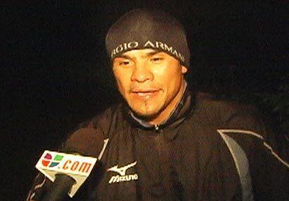 Al final del duro trabajo, compartió sus experiencias con Univision.com.