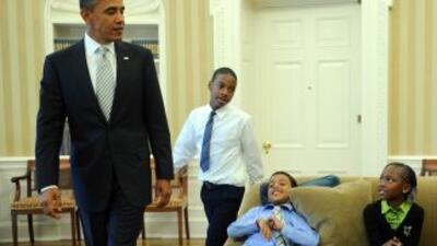 Barack Obama mandó un mensaje de apoyo para los jóvenes víctimas del 'bu...