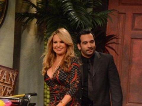 La actriz venezolana fue la segunda invitada en Noche de Perros.