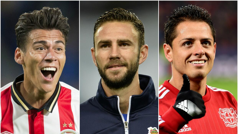 Moreno, Layún y Chicharito son destacados por UEFA.