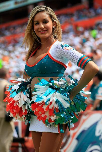 Bellas, sexys, encantadoras y divertidas, son las cheerleaders de la NFL...