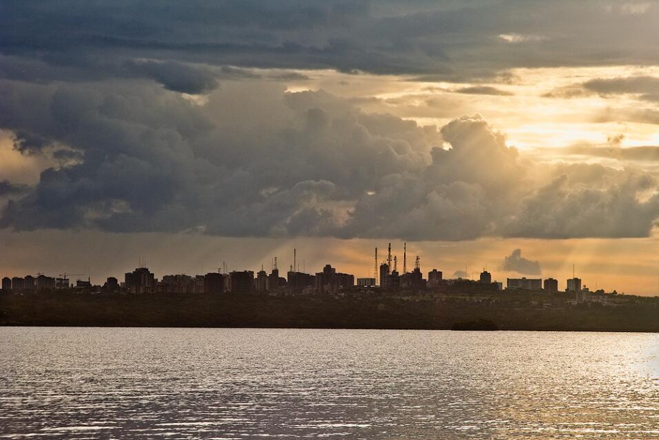 Ciudad Guayana, en Venezuela, quedó en el octavo lugar, con una tasa de...