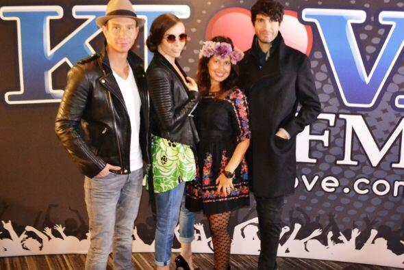 Sasha, Benny y Erick, los ex- Timbiriche estuvieron en el estudio con Om...