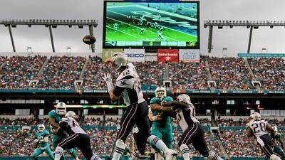 Dolphins 20-10 Patriots: Juego para el olvido de Tom Brady y New England...