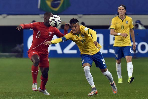 La figura del partido fue Neymar, quien en el primer tiempo nos regaló d...