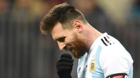 Messi abandonó la concentración argentina