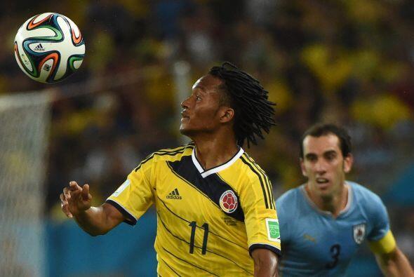 Juan Guillermo Cuadrado lució con Colombia, esto mejoró el valor del vol...