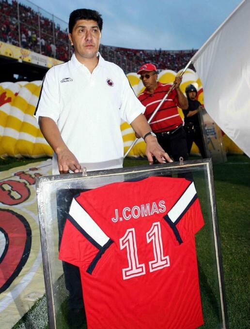 Jorge Comas, un viejo conocido del fútbol mexicano, jugó de 1985 a 1989...
