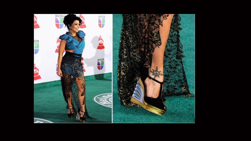 Las zapatillas más fashion de Latin GRAMMY
