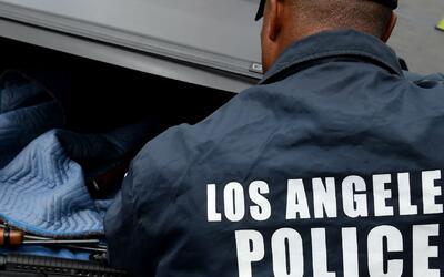 La división suroeste del Departamento de Policía de Los Ángeles estrena...