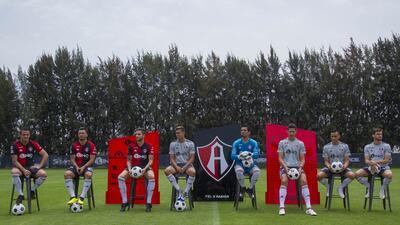 Así es la indumentaria y los refuerzos del Atlas para el Apertura 2018 de la Liga MX