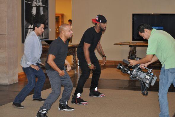 ¡A bailar se ha dicho! El coreógrafo  de 'Step Up Revolution' y uno de l...