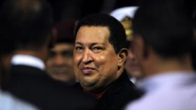 El encuentro entre el presidente Hugo Chávez y el Papa fue breve, asegur...