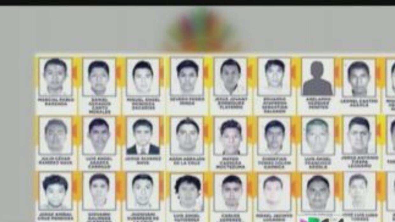 43 estudiantes de Iguala siguen desaparecidos