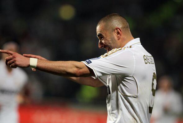 Karim Benzema ponía el primer gol que dejaba en claro lo que  sucedía en...