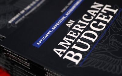 Copias del presupuesto de la administración Trump para el a&ntild...