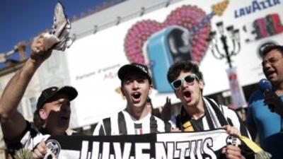 La fanaticada de la 'Vecchia Signora' pudo festejar el título 30 de su e...