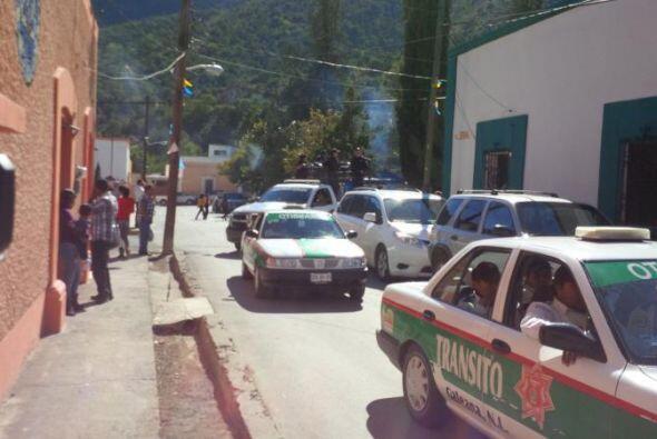 Todo está dispuesto en Iturbide, Nuevo León. (Imagen de Ma...