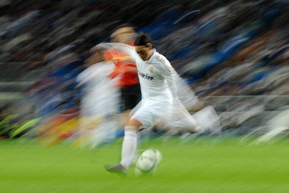 Para la segunda parte, el juego de hombres como Mesut Özil seguía dando...