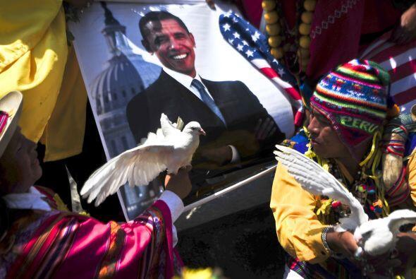 Los chamanes invocaron la paz espiritual para el 2011. La imagen de Bara...