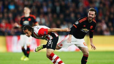 Manchester United recibe al PSV en Old Trafford