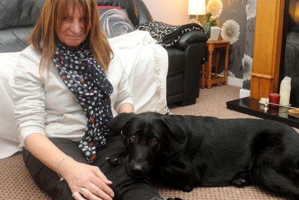 Como se comprobó después al practicarlo, Nell se lanzó sobre el sofá don...