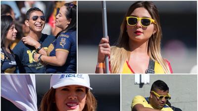 Belleza, alegría y color en el clásico capitalino de la Liga MX