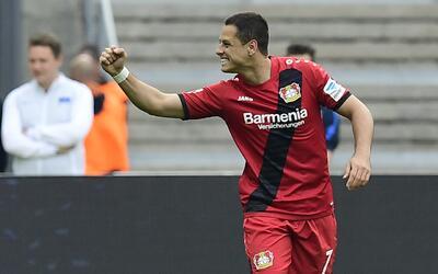 'Chicharito' escogió sus mejores momentos de la temporada con el Bayer L...