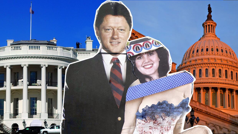 La relación extramatrimonial de Clinton con la becaria lo llevó a un jui...