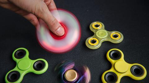 Los populares 'spinners' están en la lista negra de WATCH por su...