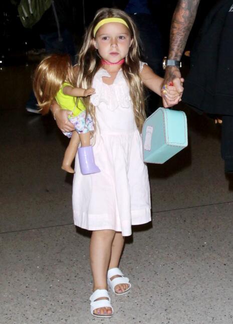 Harper es inseparable a su papá David Beckham.