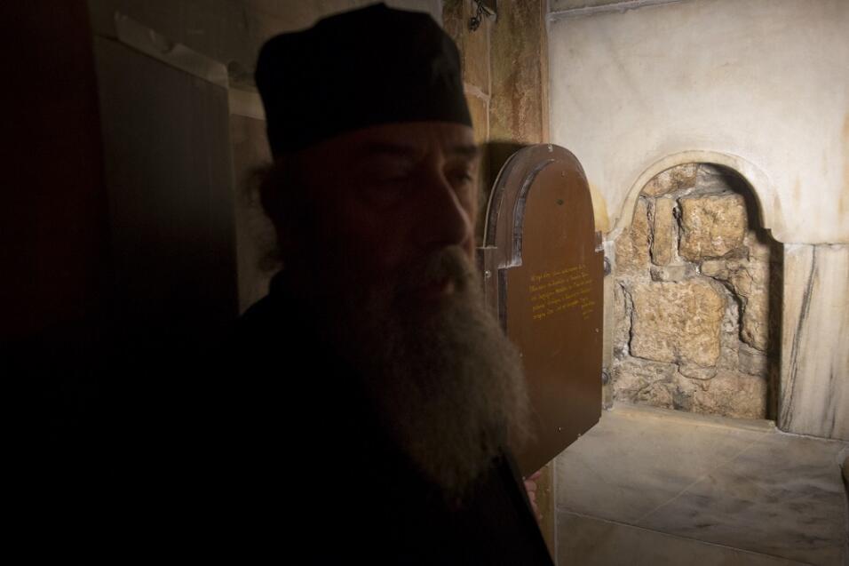 Tumba de Jesucristo restaurada