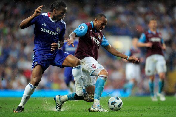 Chelsea y West Ham protagonizaron un intenso partido.