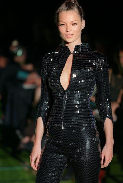 La ventaja de Kate Moss y de las grandes top models es la capacidad de p...