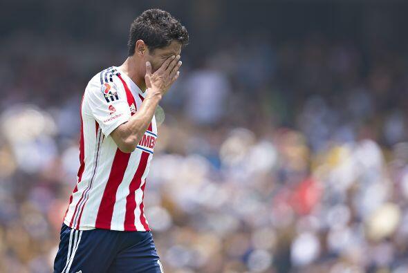 Fernando superó a delanteros como Aldo de Nigris, Angel Reyna y Carlos F...
