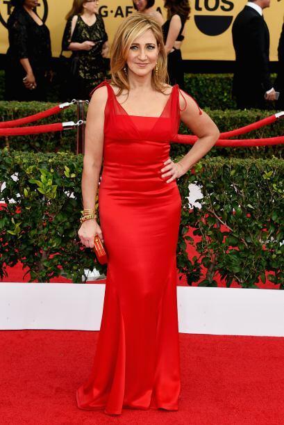 La bella y talentosa Edie Falco, de 'Nurse Jackie' y 'The Sopranos'.