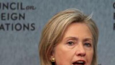 La secretaria de Estado de EU, Hillary Clinton comparó a México con la v...