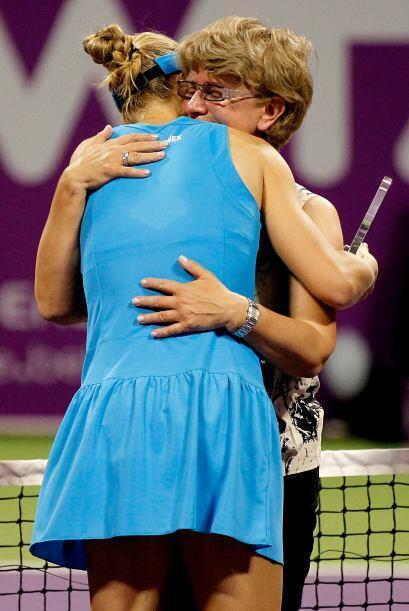 La tenista habló sobre su madre Vera, quien siempre la ha apoyado.