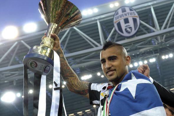 También de Italia, el chileno Arturo Vidal es otro futbolista que gusta...
