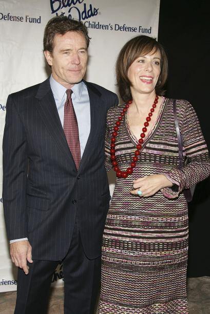 Jane con Bryan Cranston en 2005.