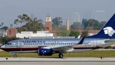 Aeroméxico es la mayor línea aérea de México, controla el 43% del mercad...