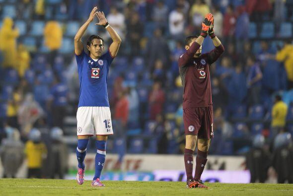 En este Apertura 2014, Cruz Azul ha comenzado una racha de siete puntos...