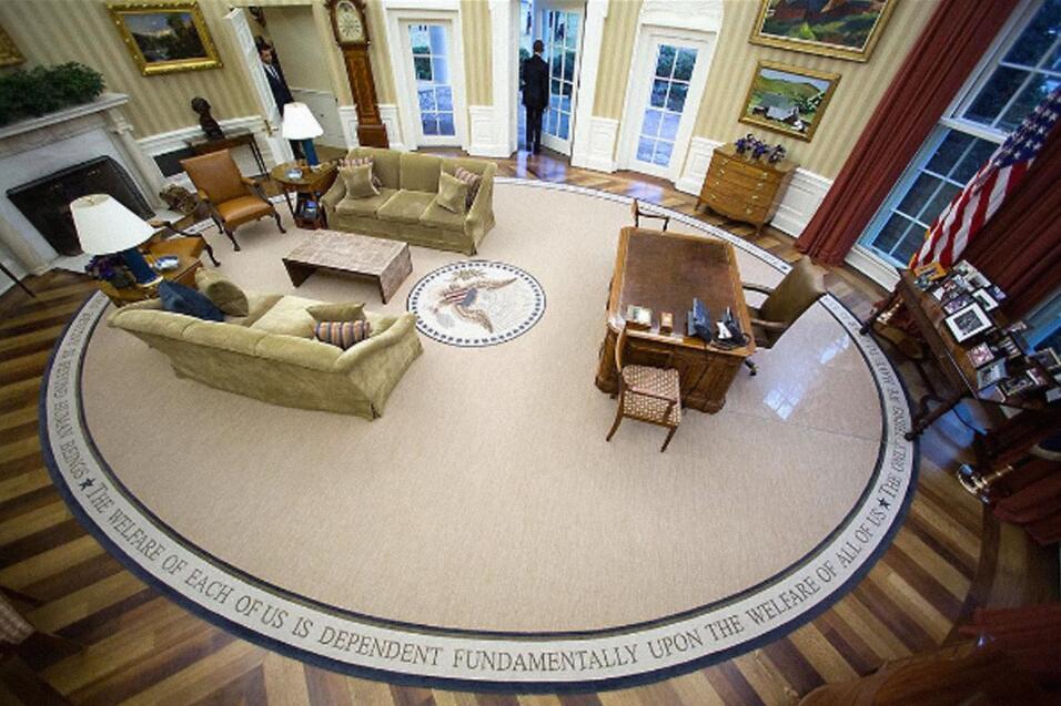 Ovall Office Obama