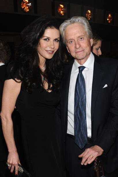 Bien guardadito tenían el secreto Michael Douglas y Catherine Zet...