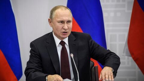 El presidente ruso, Vladimir Putin, en una imagen de archivo.