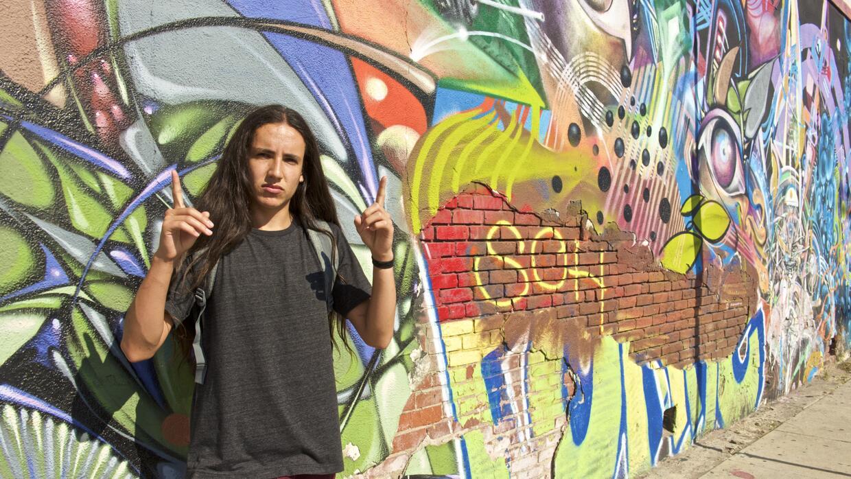 Xiuhtezcatl Martínez, activista ambiental y artista del hip hop.