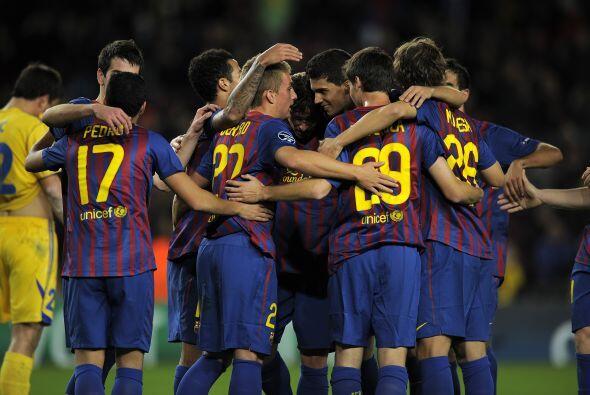 El Barcelona se dio un festín ante el Bate Borisov y lo gole&oacu...