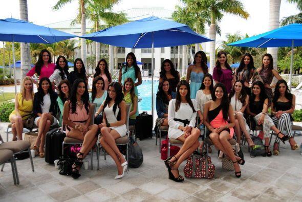 Después de viajar a México, Puerto Rico y Canadá, las chicas llegaron a...